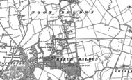 Old Map of Marsh Baldon, 1897 - 1911