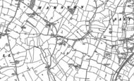 Old Map of Marston, 1880 - 1881