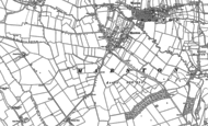 Old Map of Marston, 1899