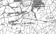 Old Map of Marston Trussell, 1899