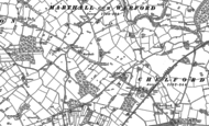 Old Map of Marthall, 1897