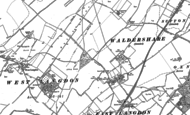 Old Map of Martin, 1896 - 1906