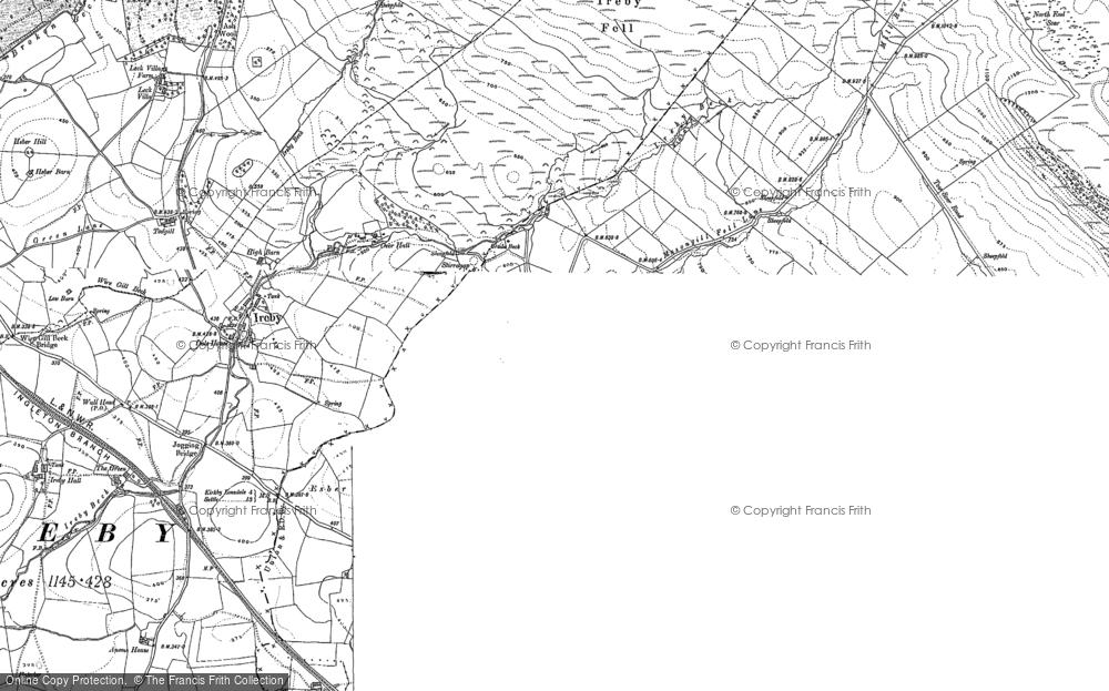 Old Map of Masongill, 1907 in 1907