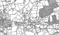 Old Map of Maulden, 1882
