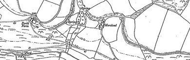 Old map of Berryl's Point centred on your home