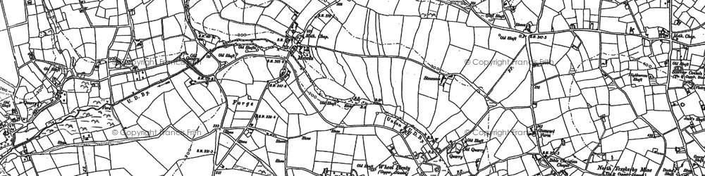 Old map of Forge in 1906