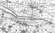 Old Map of Melbourne, 1890