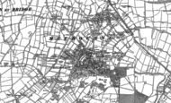 Old Map of Melbourne, 1899 - 1901