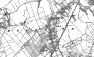 Old Map of Meldreth, 1885 - 1886