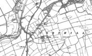 Old Map of Melkington, 1896