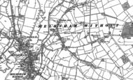Old Map of Melksham Forest, 1899