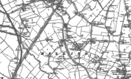 Old Map of Melling, 1892 - 1907