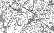 Old Map of Melling, 1910