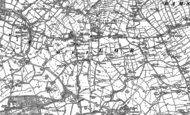 Old Map of Mellor, 1896 - 1897