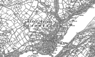 Old Map of Menai Bridge, 1899