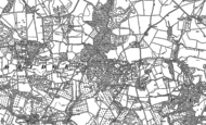 Old Map of Menithwood, 1883 - 1901