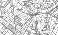 Old Map of Mere Brow, 1892 - 1893