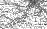 Old Map of Merlin's Bridge, 1887 - 1888