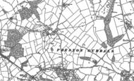 Old Map of Merrington, 1880