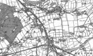 Old Map of Methley, 1890