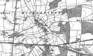Old Map of Micklefield, 1890