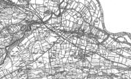 Old Map of Mickleton, 1892 - 1913
