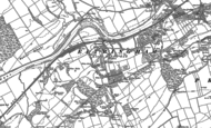 Old Map of Mickley Square, 1895