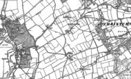 Old Map of Middle Bockhampton, 1896 - 1907