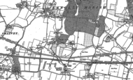 Old Map of Middle Green, 1897 - 1923