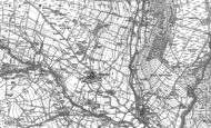 Old Map of Middlesmoor, 1890 - 1907