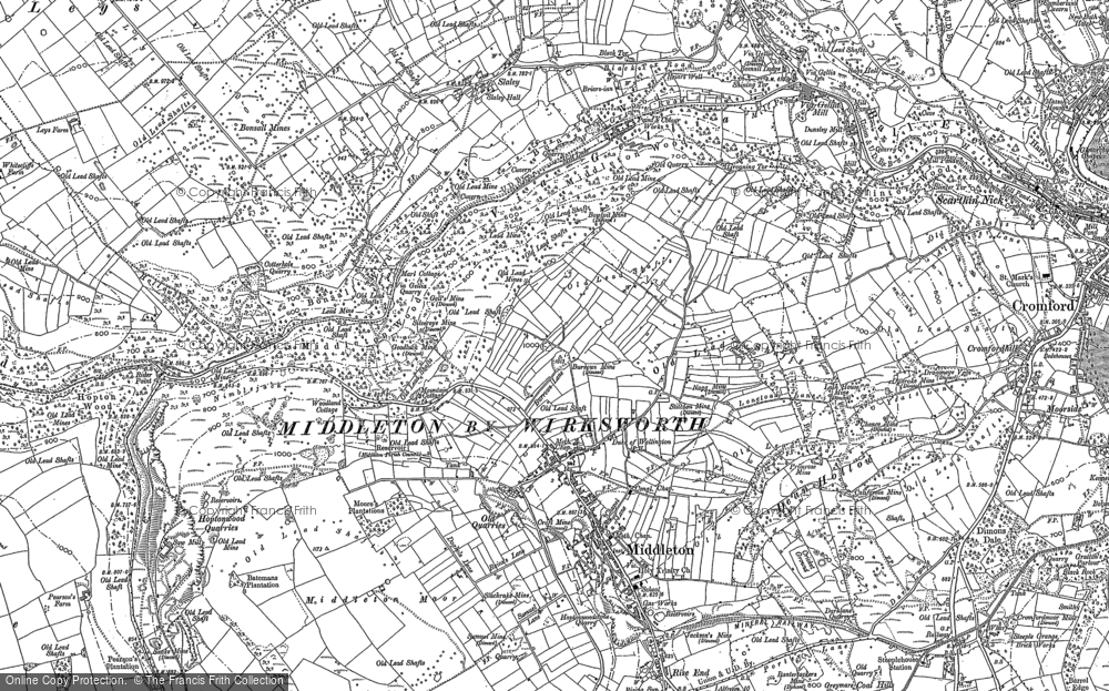 Map of Middleton, 1879 - 1898