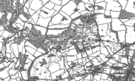 Old Map of Middlewick, 1919