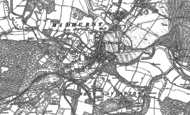 Old Map of Midhurst, 1895 - 1896