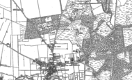 Old Map of Mildenhall, 1882 - 1903