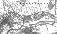 Old Map of Mildenhall, 1899