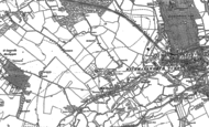 Old Map of Mill End, 1895 - 1913