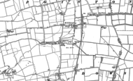 Old Map of Millthorpe, 1886 - 1887