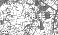Old Map of Milnthorpe, 1890 - 1891