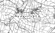 Old Map of Milthorpe, 1883