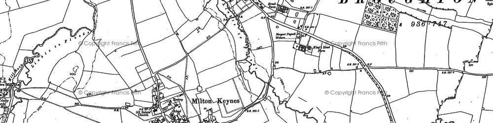 Milton Keynes Village photos maps books memories  Francis Frith