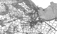 Old Map of Minehead, 1902