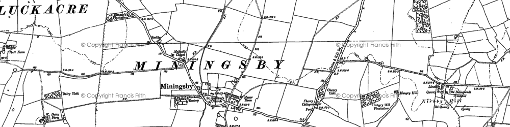 Old map of Whaiff Ho in 1887