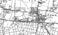 Old Map of Minster, 1896