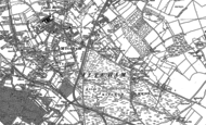 Old Map of Mitcham, 1894 - 1911