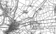 Old Map of Mitton, 1900 - 1901