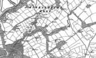 Old Map of Moat, 1948 - 1949