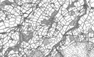 Old Map of Modrydd, 1882 - 1887