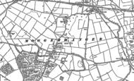 Old Map of Moggerhanger, 1882