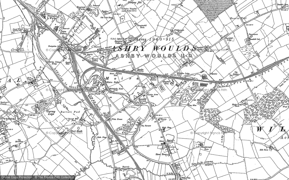 Old maps of ashby de la zouch canal francis frith ashby de la zouch canal 1900 reheart Images