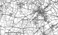 Old Map of Moor, 1886